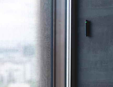 Détecteur de bris de vitre sans fil