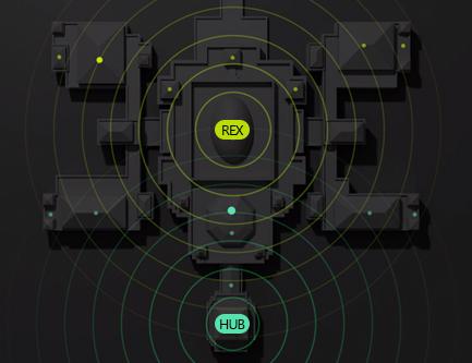 Ajax REX répéteur de signal radio
