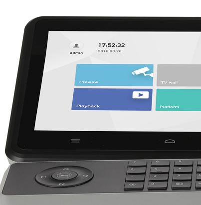 Clavier de commande / Joystick avec écran LCD