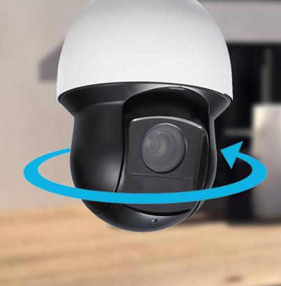 Caméra dôme PTZ HDCVI 1080p - 4MP - IR 100m - Dahua