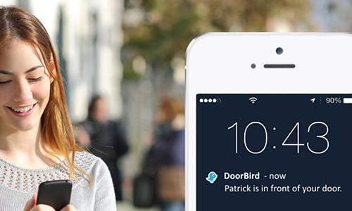Portier vidéo IP wifi multi-utilisateurs - 1 sonnette - Doorbird D2101V
