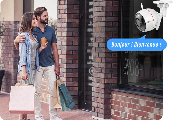 Caméra Wi-Fi Ezviz