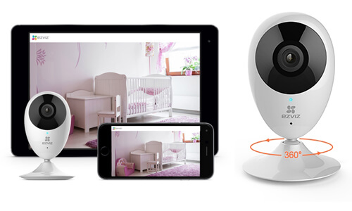 Caméra réseau Wifi o Plus 1080p - Mini o Ezviz