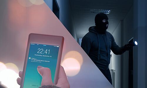 Application smartphone Ezviz - Système de sécurité connecté