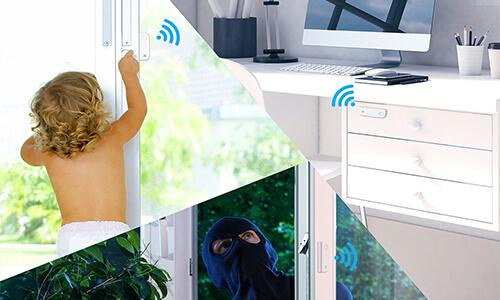 Détecteur d'ouverture autonome sans fil - Ezviz T6