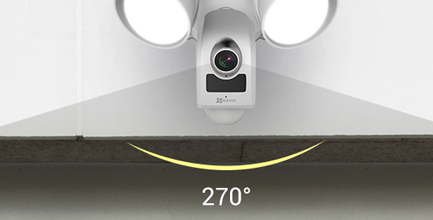 projecteur LED et sirène - LC1 - Ezviz
