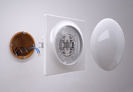 Bouton switch pour interrupteur Walli - Fibaro