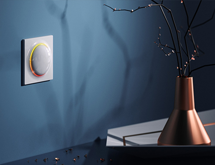Variateur d'éclairage intelligent - Domotique Walli Fibaro