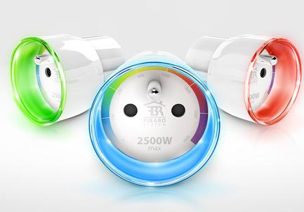 Prise connectée Fibaro : interrupteur et mesure de la consommation