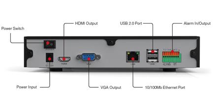 Enregistreur HD numérique Foscam FN3109H