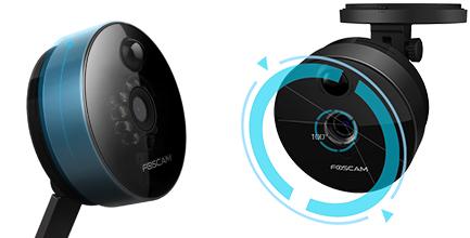 Caméra compacte sans fil 720P Foscam C1