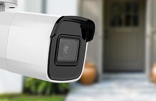 Caméra tube IP Safire