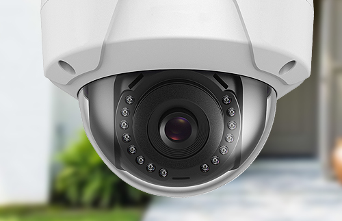 Caméra dôme IP Safire
