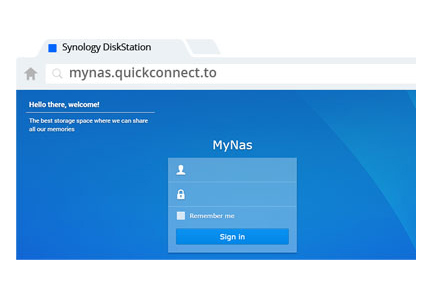 >Synology Quick Connect