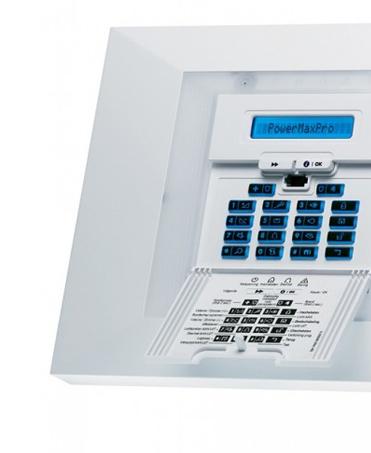 Description Centrale d'alarme Visonic