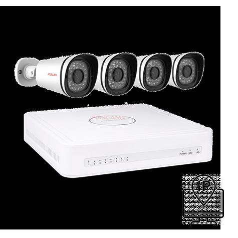 Kit de vidéosurveillance IP