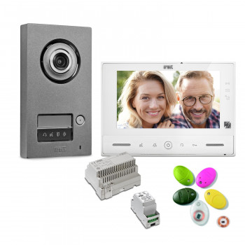 Kit complet interphone vidéo Note 2 - Urmet
