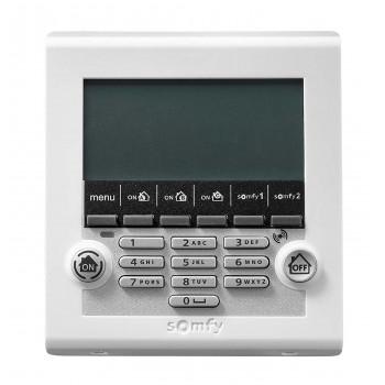Clavier LCD ultra-plat avec lecteur de badge - Somfy Protexiom