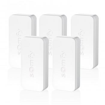 Pack de 5 détecteurs d'ouverture et de vibration IntelliTAG - Somfy Protect