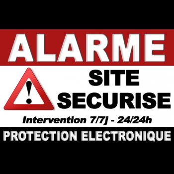 alarme GSM et sirène photovoltaïque exterieure