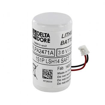 La batterie BP DMBV pour détecteur de mouvement bi-lentille vidéo Tyxal + a exactement les mêmes caractéristiques que le modèle d'origine. Elle est garantie 5 ans et son autonomie est de 10 ans.