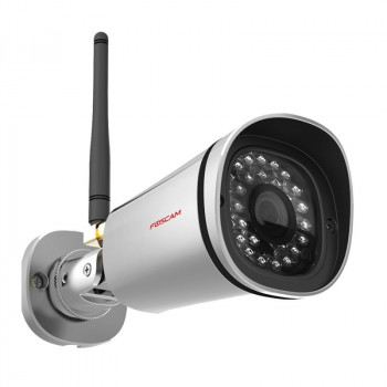 Camera IP wifi HD exterieure infrarouge – Foscam FI9800P – Argent