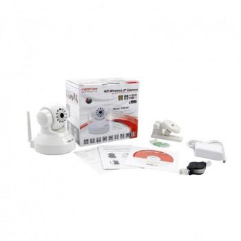 Camera IP wifi HD interieure motorisee infrarouge – Foscam FI9816P – Noir ou Blanc