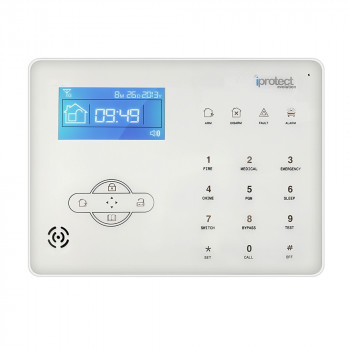 ALARME MAISON RTC AVEC CENTRALE TACTILE - iProtect