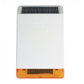 pack alarme maison et sirène sans fil solaire