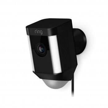 Caméra extérieure WiFi avec spots LEDs - Spotlight Cam Filaire - Ring