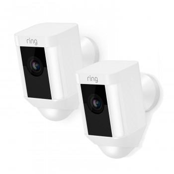 Lot de 2 caméras sans fil extérieures - Spotlight Cam Battery - Ring