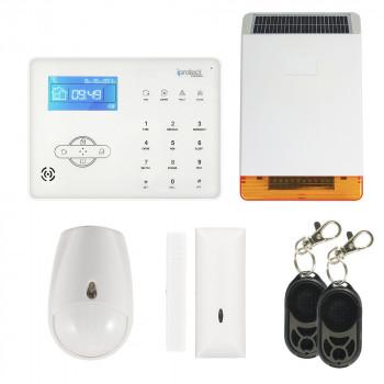 KIT ALARME GSM + SIRENE SOLAIRE