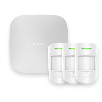 Alarme maison sans fil Ajax AJ-HUBKIT-PRO-W