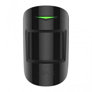 Détecteur de bris de vitre et mouvement sans fil CombiProtect - noir - Ajax
