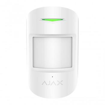 Détecteur de bris de vitre et mouvement sans fil CombiProtect - blanc - Ajax