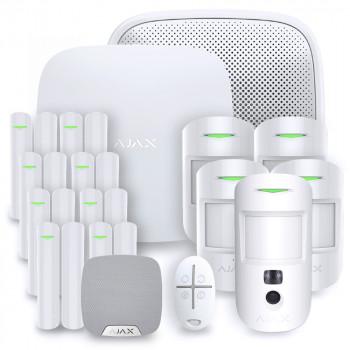 Alarme maison sans fil Ajax Hub 2 - Kit 6