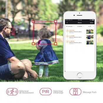 Caméra autonome 100% sans fil B1 - Foscam