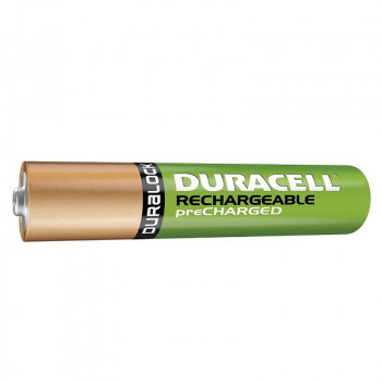 Lot de 4 pile rechargeables AAA-HR03 NiMH - Duracell