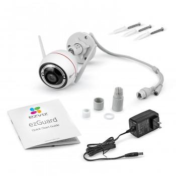 Caméra Wi-Fi 1080p à vision nocturne en couleur - Ezviz C3W