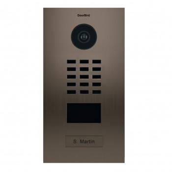 Portier vidéo IP lecteur de badge RFID - Doorbird D2101BV Bronze