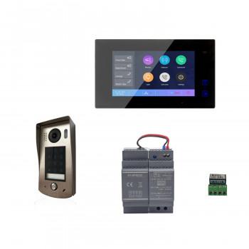 Kit portier vidéo avec moniteur couleur DT7 - Digitone by Gates