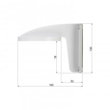 Support mural pour caméra dôme série DS-2CD21 et DS-2CD11 - Hikvision