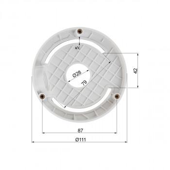 Support incliné pour caméra dôme série DS-2CD21XX - Hikvision