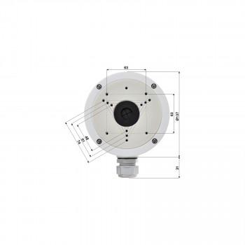 Boite de jonction pour caméra dôme - Hikvision