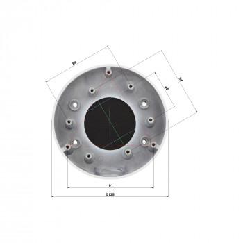 Support de plafond incliné pour caméra dôme - Hikvision