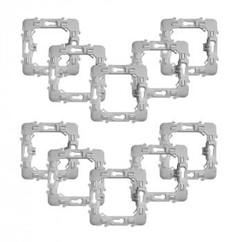 Lot de 10 adaptateurs pour montage de modules Walli sur façades Schneider - Fibaro