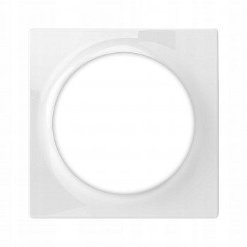 Plaque de finition simple pour interrupteur ou prise Walli - Fibaro