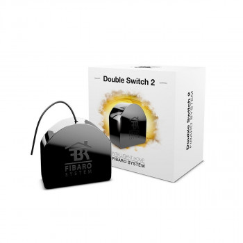 Module double interrupteur marche/arrêt Z-Wave+ - Double Switch 2 - Fibaro