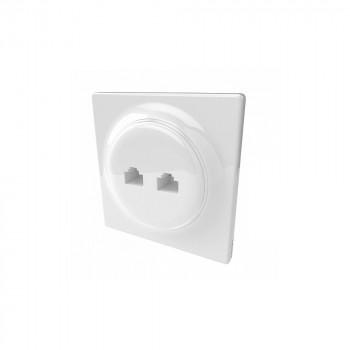 Prise encastrée Ethernet - Gamme Walli N - Fibaro