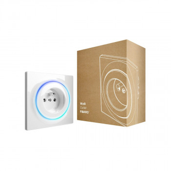 Prise intelligente encastrée Z-Wave+ - Walli Outlet Type E - Fibaro